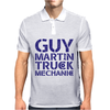 GUY MARTIN TRUCK MECHANIC Mens Polo