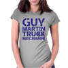 GUY MARTIN TRUCK MECHANIC Womens Fitted T-Shirt