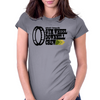 Gym Wheel Downhill Crew (dark) Womens Fitted T-Shirt