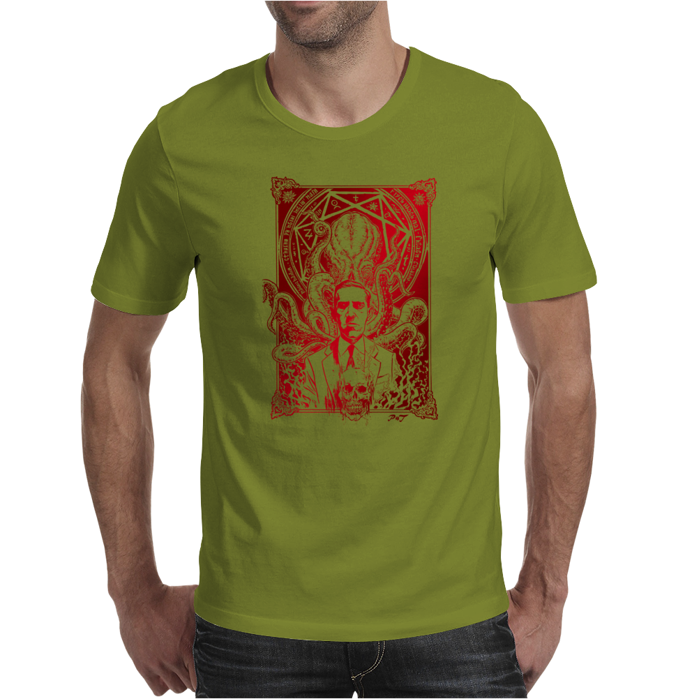 H. P. Lovecraft cthulhu Mens T-Shirt