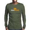 HACKING Mens Long Sleeve T-Shirt