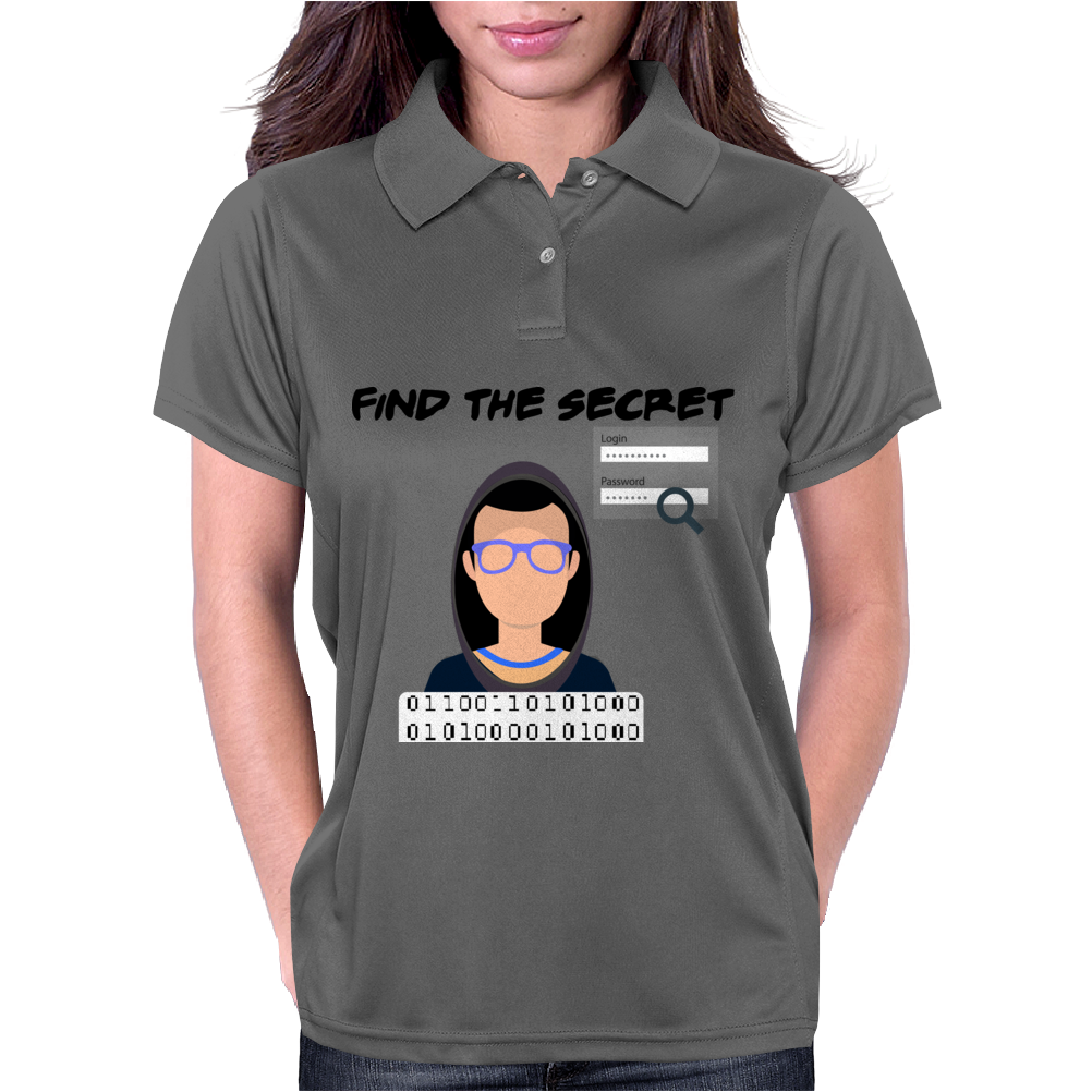 hacking yourself Womens Polo