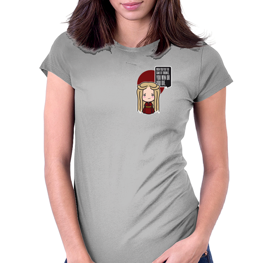 Hail to the Queen Womens Fitted T-Shirt