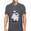 Hairy Baby's Purrrfect Halloween Mens Polo
