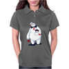 Hairy Baby's Purrrfect Halloween Womens Polo