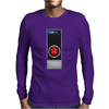 Hal 9000 Computer Logo Science Fiction Mens Long Sleeve T-Shirt