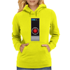 Hal 9000 Computer Logo Science Fiction Womens Hoodie