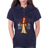 Halloween Dracula meets Simpsons style! Womens Polo