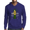 Halloween Medusa meets Simpsons style! Mens Hoodie