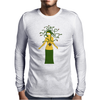 Halloween Medusa meets Simpsons style! Mens Long Sleeve T-Shirt
