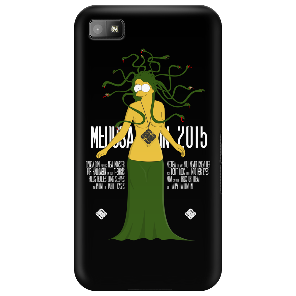 Halloween Medusa meets Simpsons style! Phone Case
