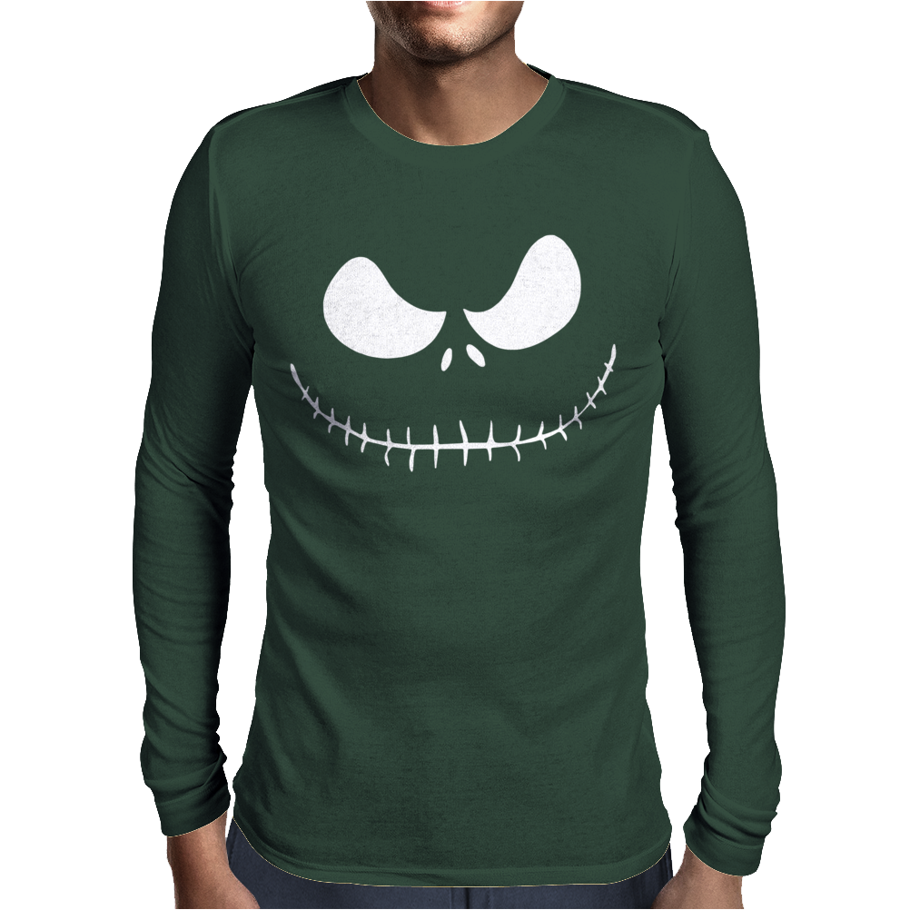 Halloween Nightmare Mens Long Sleeve T-Shirt