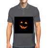 halloween pumpkin Mens Polo