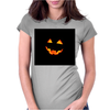 halloween pumpkin Womens Fitted T-Shirt