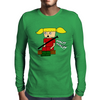 Halt! Halt! Stop it! Mens Long Sleeve T-Shirt