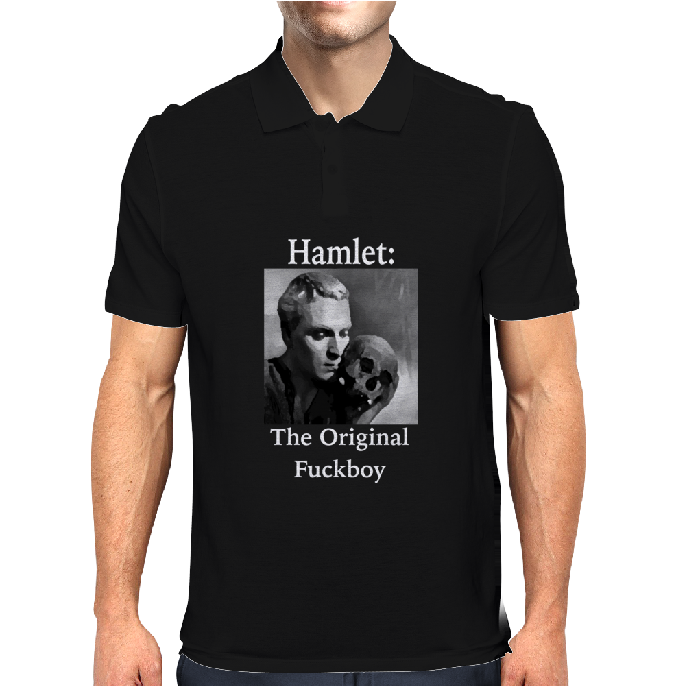 Hamlet T-Shit, Phone Case, Tablet Mens Polo