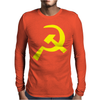 Hammer & Sickle Communist Mens Long Sleeve T-Shirt