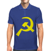 Hammer & Sickle Communist Mens Polo