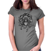Hamsa Lion Womens Fitted T-Shirt
