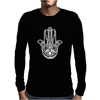 Hamsa Mens Long Sleeve T-Shirt