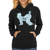 Hamster Butt World X-Ray! Womens Hoodie