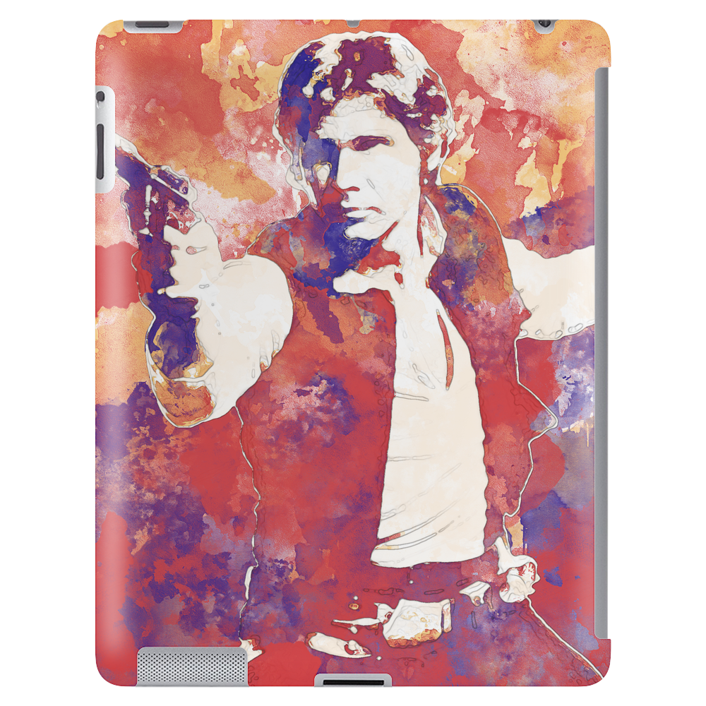 Han Solo - Watercolor Tablet