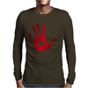 hand star blood Mens Long Sleeve T-Shirt