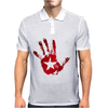 hand star blood Mens Polo