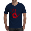 hand star blood Mens T-Shirt