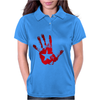 hand star blood Womens Polo