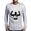 Hands Up Don't Shoot! Mike Mens Long Sleeve T-Shirt