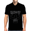 Hands Up Don't Shoot! Mike Mens Polo