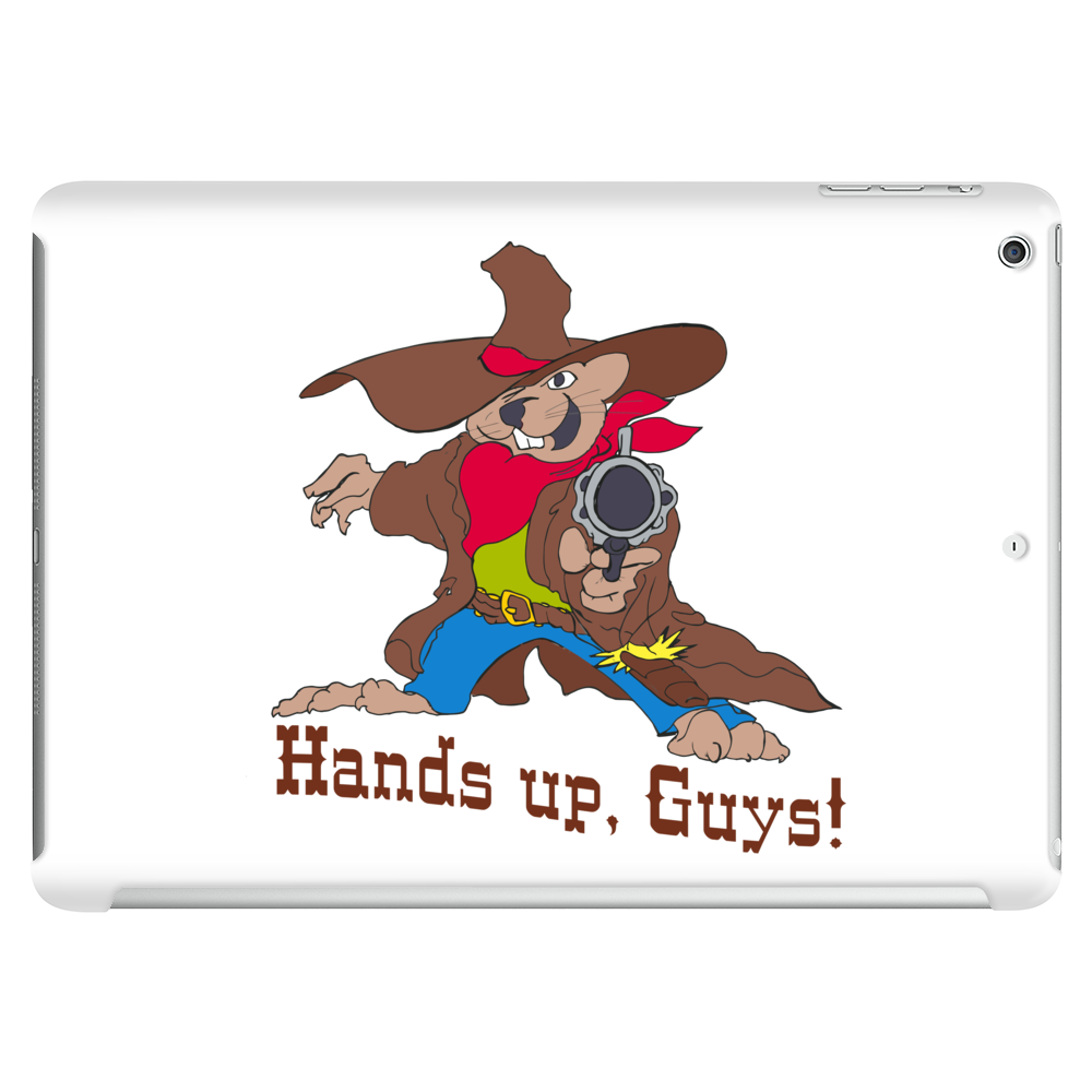 Hands up, guys! Tablet (horizontal)