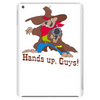 Hands up, guys! Tablet (vertical)
