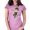 HANDSOME JACK FINGER GUNS Womens Fitted T-Shirt