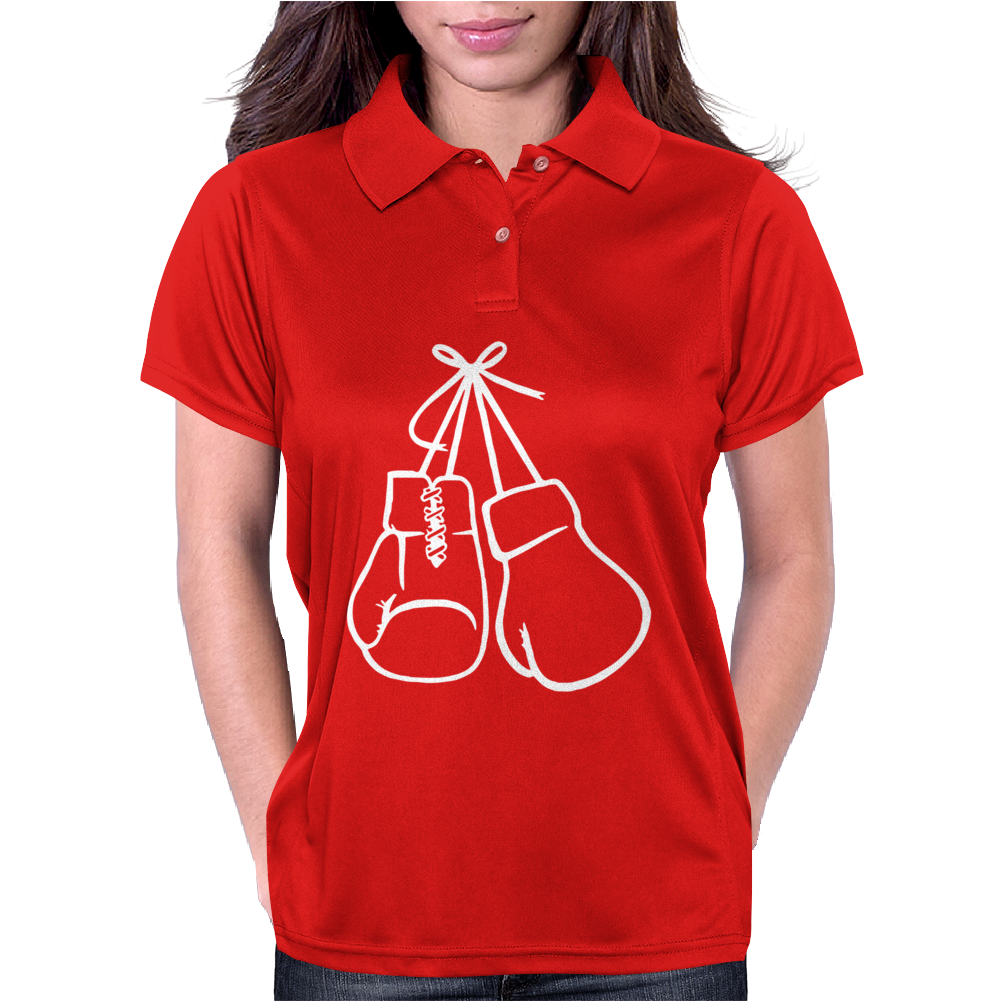 Hanging boxing Womens Polo