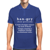 Hangry - Funny Mens Polo