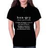Hangry - Funny Womens Polo