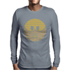 Hannibal Lecter Smiley Face Mens Long Sleeve T-Shirt