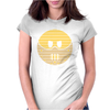Hannibal Lecter Smiley Face Womens Fitted T-Shirt