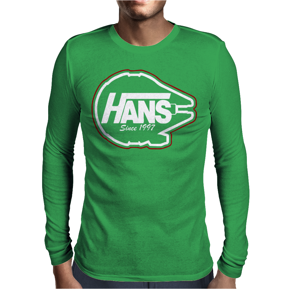 Hans Since 1977 Mens Long Sleeve T-Shirt