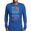 Happiness Mens Long Sleeve T-Shirt