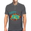 Happy 2016 New Year Mens Polo