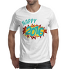 Happy 2016 New Year Mens T-Shirt