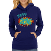 Happy 2016 New Year Womens Hoodie