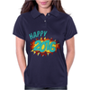 Happy 2016 New Year Womens Polo