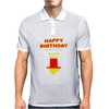 Happy Birthday Make A Wish Blow Mens Polo