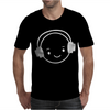 Happy Face Dj Mens T-Shirt