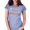 Happy Halloween Womens Fitted T-Shirt