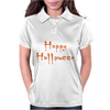 Happy Halloween Womens Polo